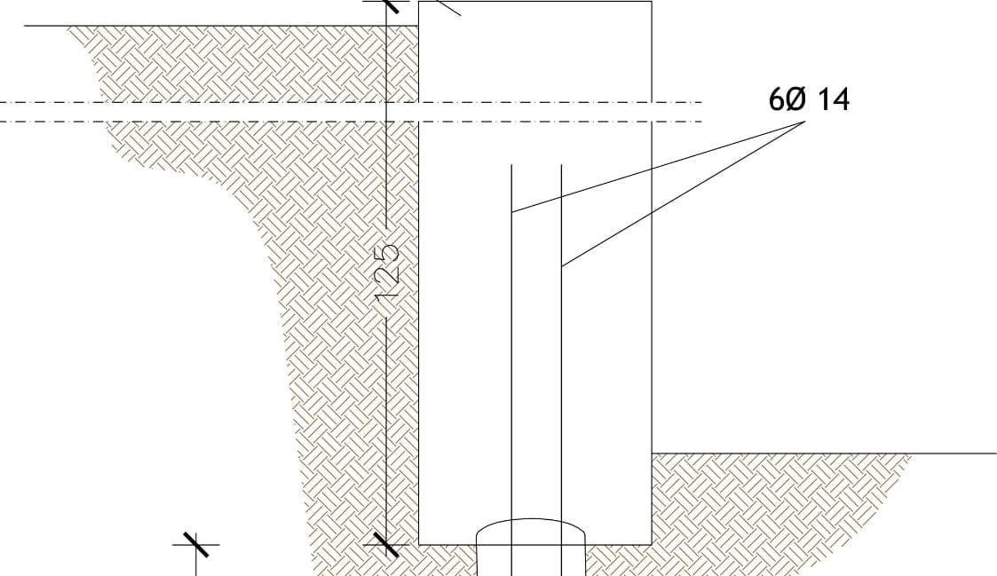 Consolidamento muro di contenimento in Montaldo Scarampi (AT)