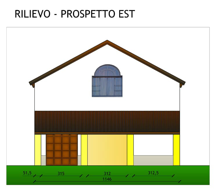 Realizzazione nuovo terrazzo in edificio a servizio dell'attività agricola, San Marzano Oliveto