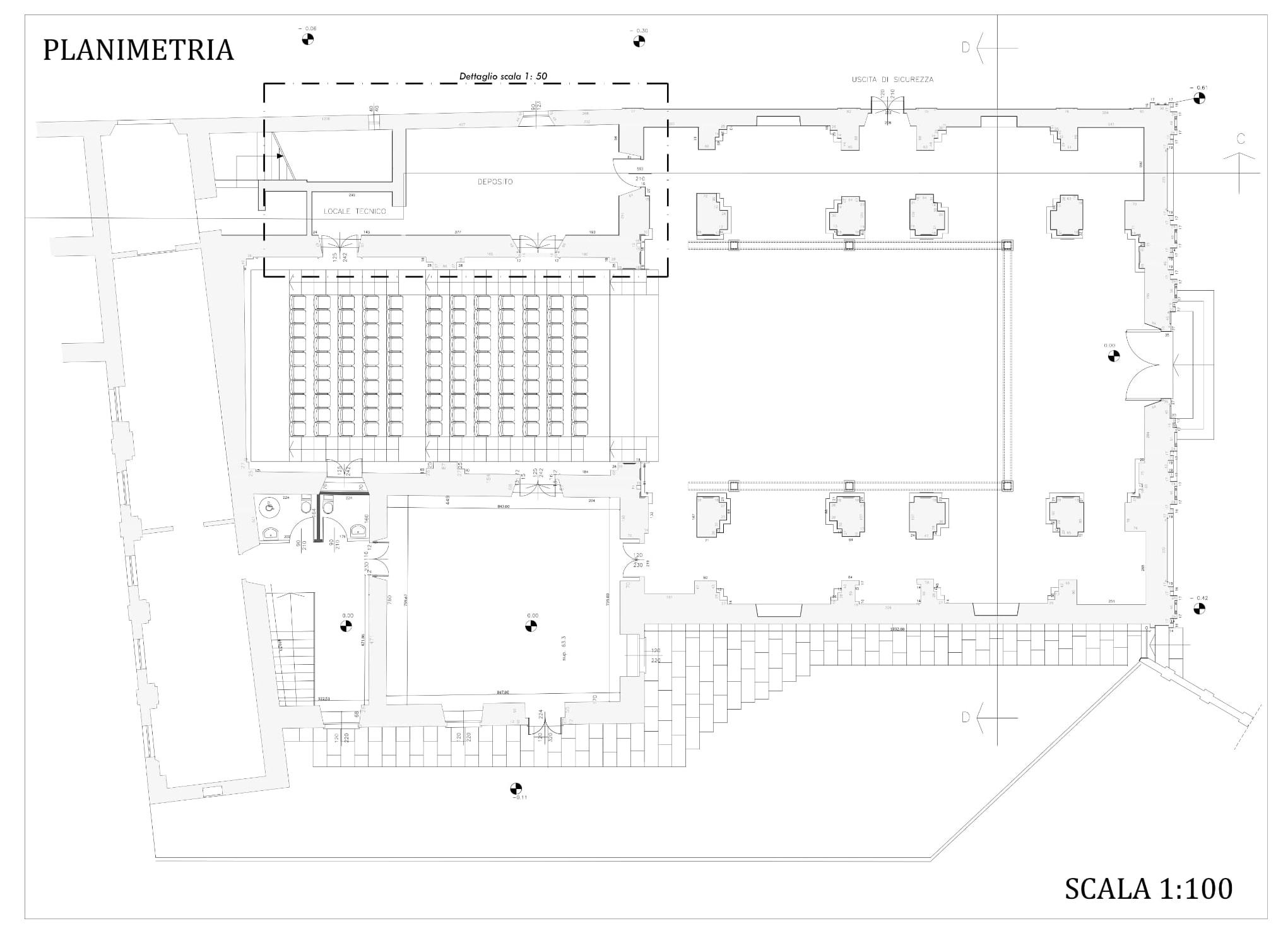 Edifici storici del complesso del Casermone/Ex Chiesa di S.Giuseppe, Asti – Primo lotto