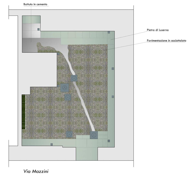 Rifacimento pavimentazione cortile condominiale – Via Mazzini, Torino