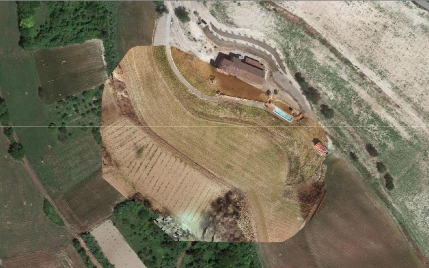 Sistemazione di cortile pertinenziale, Mombello Monferrato (AL)