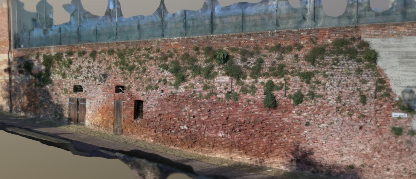 Consolidamento strutturale muro di contenimento, Parrochia S.Giovanni Battista Moncucco Torinese (TO)