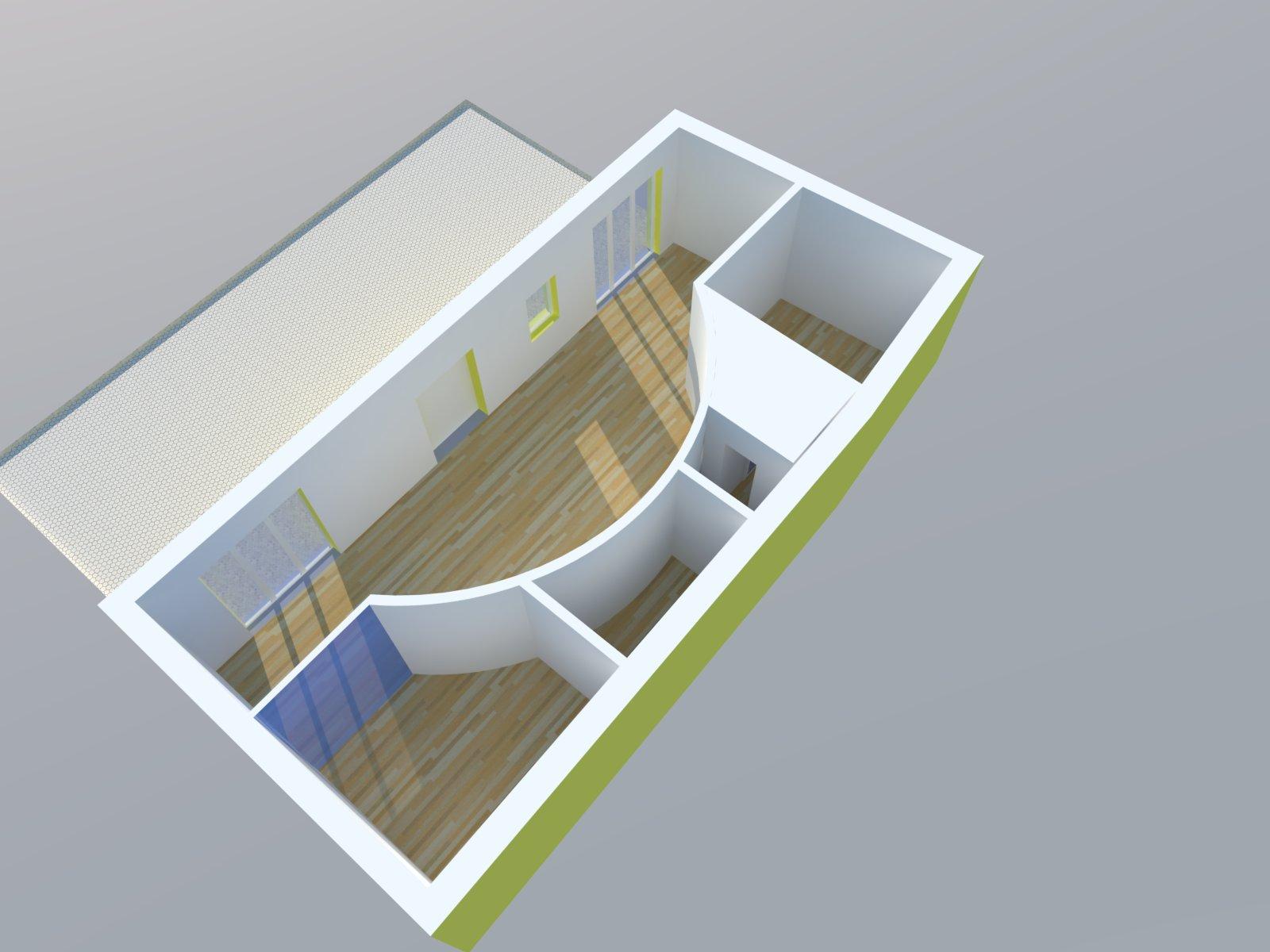 Ristrutturazione edilizia di unità abitativa in abitazione residenziale, Monticello d'Alba (CN)