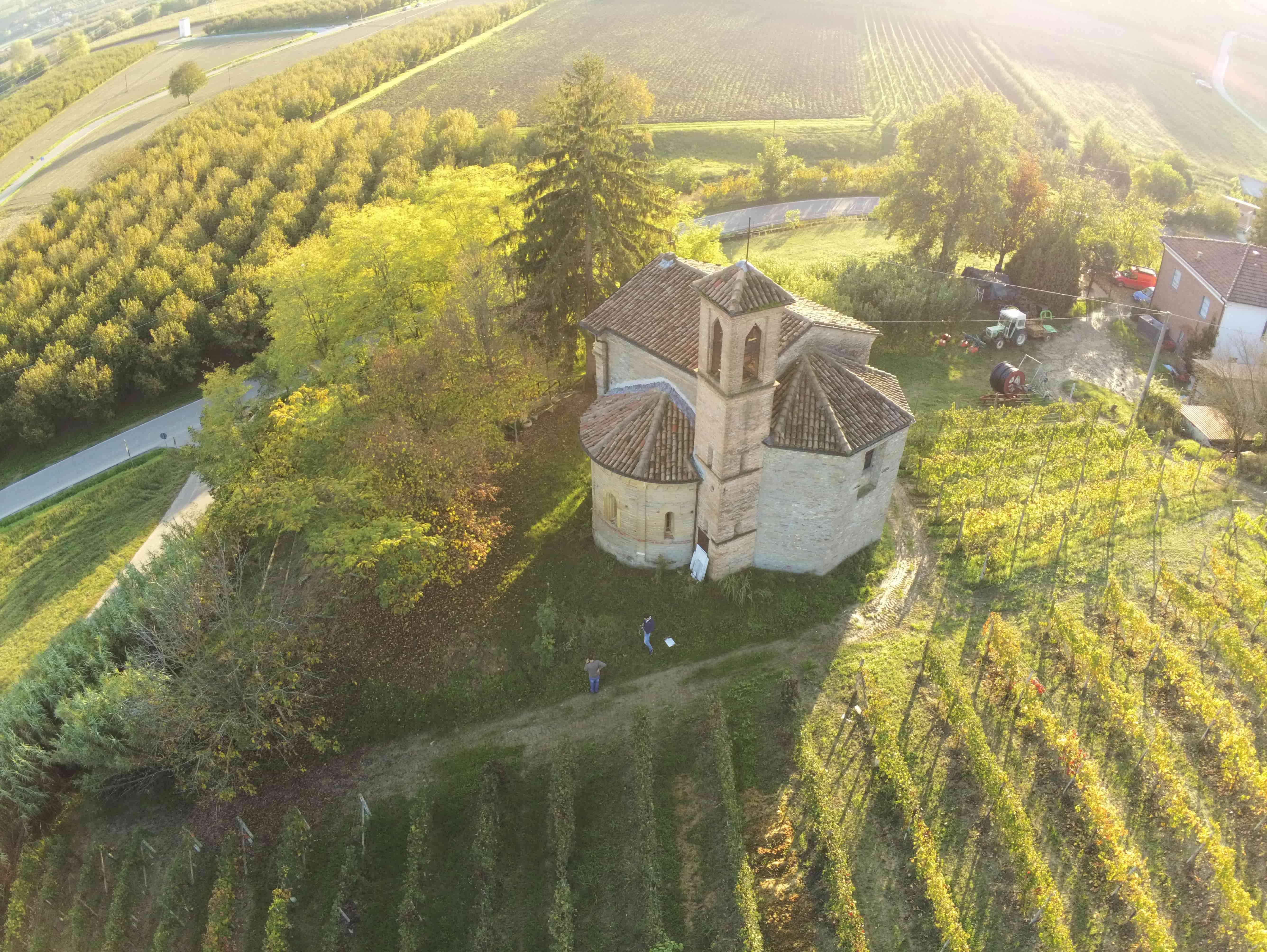 Chiesa di S. Giovanni alle Conche Calamandrana (AT) -SAPR-