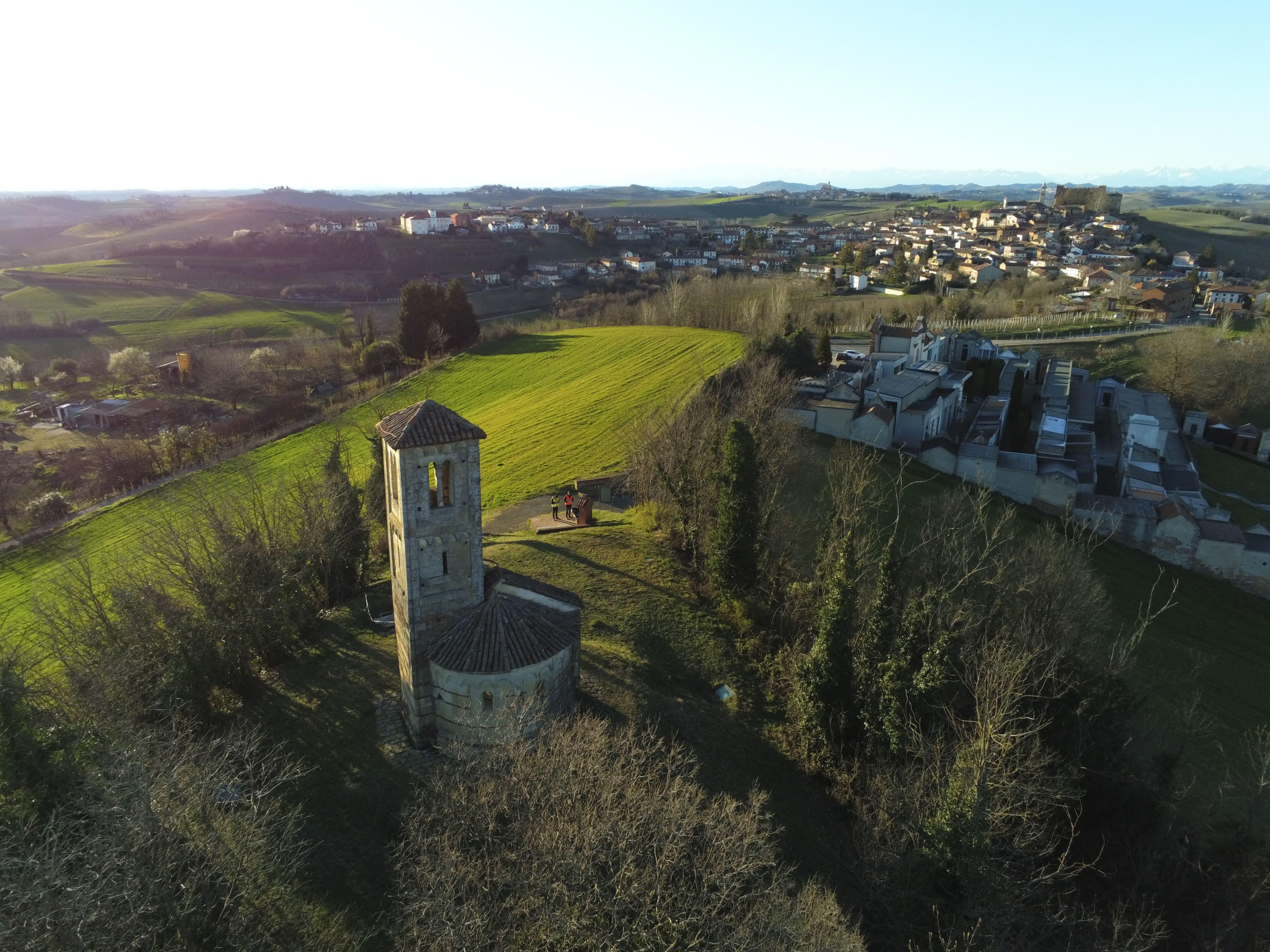 """Chiesa di San Vittore"" Montemagno, Italy (AT) -SAPR-"