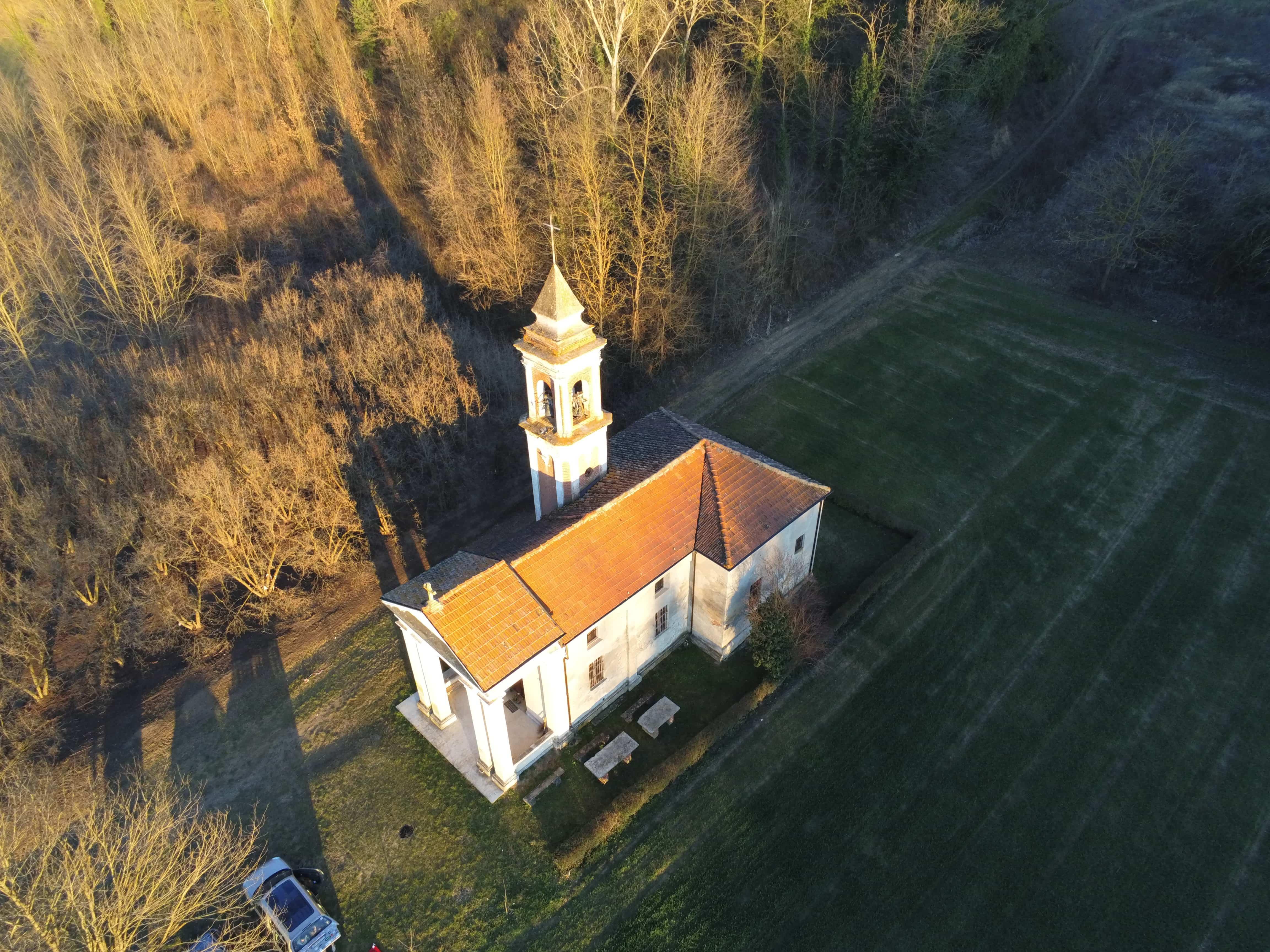 """""""Chiesa della Madonna di Vallinò """"  Montemagno, Italy (AT) -SAPR-"""